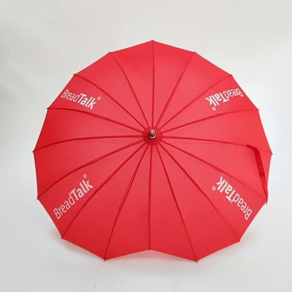 Promotional Umbrellas – Branded Uber Heart Umbrella - Canopy