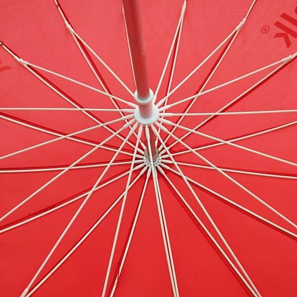 Promotional Umbrellas – Branded Uber Heart Umbrella - Ribs