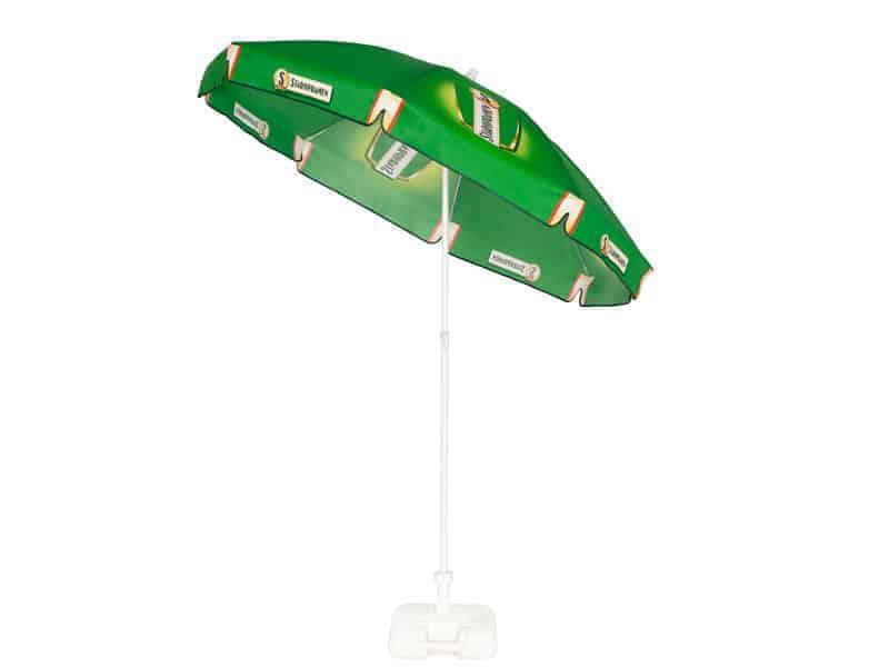 Branded tilt parasols