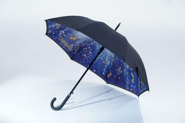 Uber Fibrestorm Walker double canopy - promotional umbrellas
