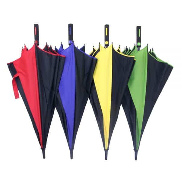 Promotional Umbrellas Uber Colour Frame Golf Umbrellas range
