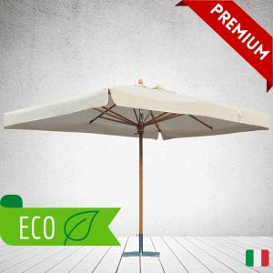 Eco promotional parasols wooden parasol