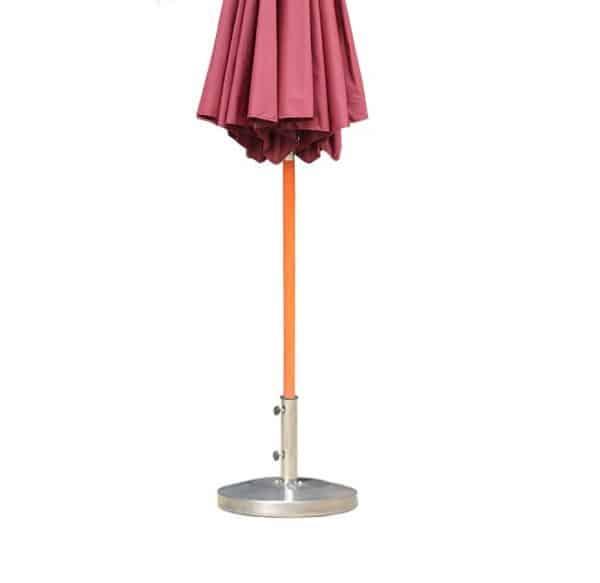 Metal Base for printed parasols