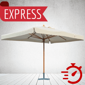 EXPRESS Branded Parasols: 2-3 Week Lead Time