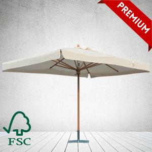 Commercial Parasols Premium FSC Wood Parasol SQUARE