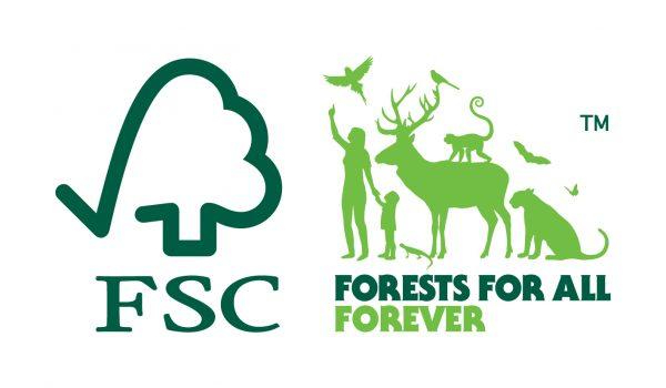 Branded Parasols FSC Wood approved